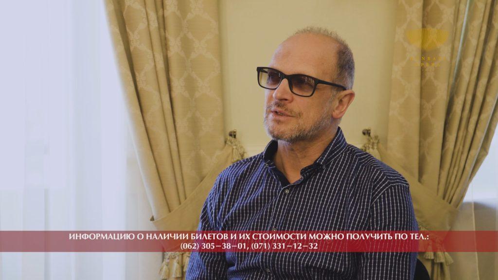 Интервью Лебедев