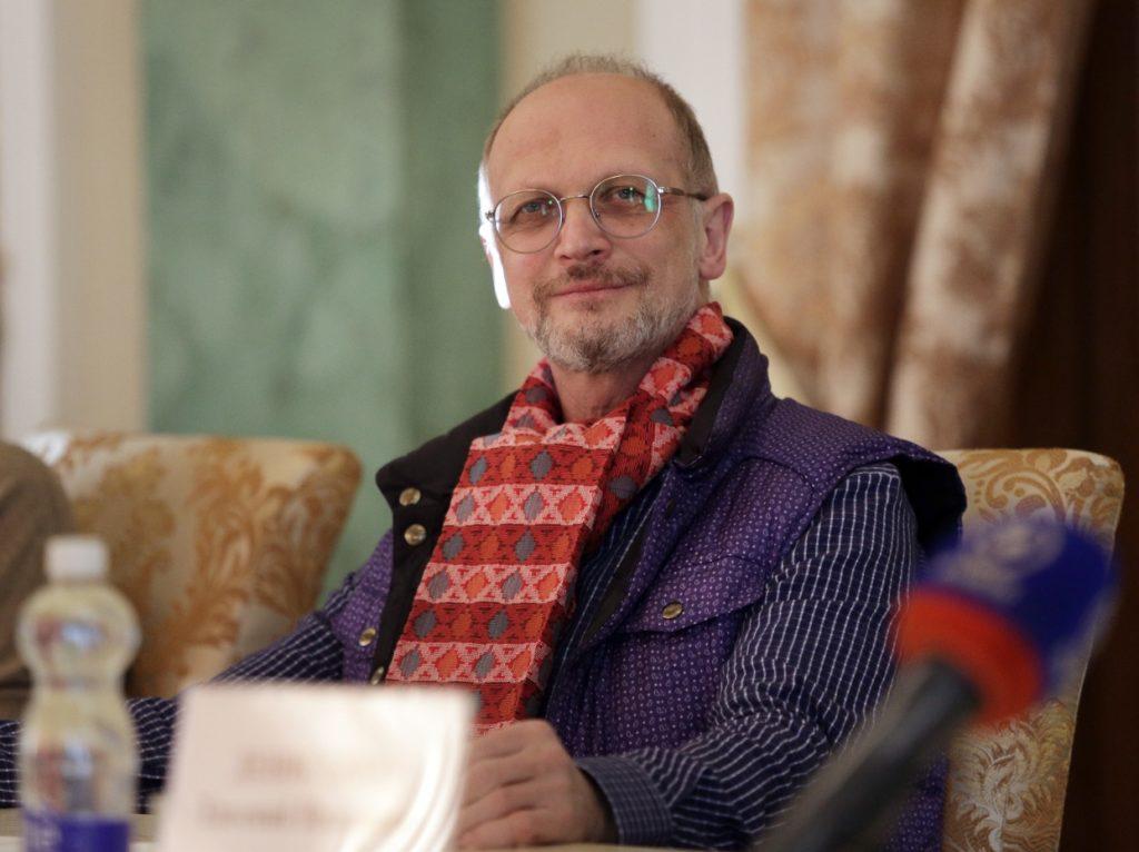 Пресс-конференция, посвященная премьере оперы «Любовные похождения сэра Джона Фальстафа»