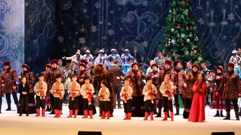 В Донбасс Опере состоялся рождественский концерт «Музыка Рождества»