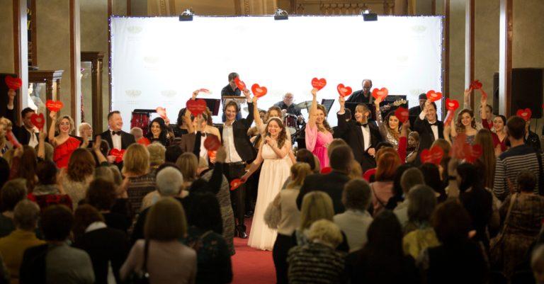 «…Когда в сердце живет любовь…» на холл-сцене в Донбасс Опере
