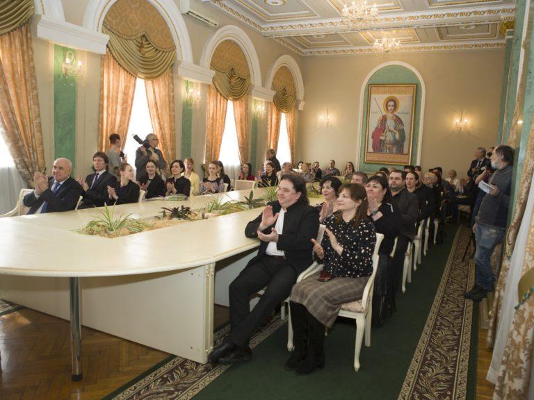 Торжественное награждение в Донбасс Опере