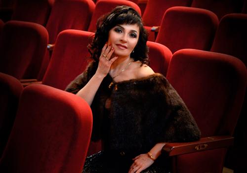 Бенефис заслуженной артистки Украины Фатимы Касьяненко