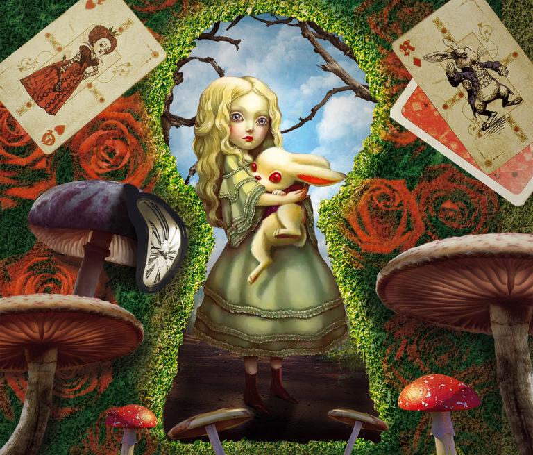 Увлекательный проект «Зазеркалье Алисы»