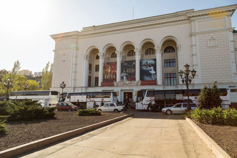 Донбасс Опера в городах Донецкой Народной Республики