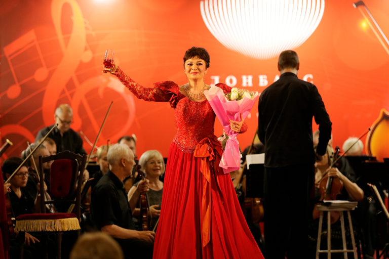 Концерт «Моя жизнь – театр» в Донбасс Опере