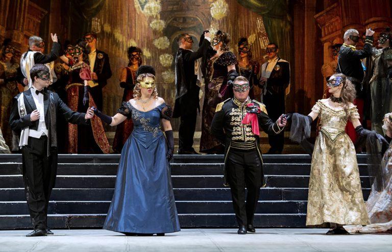 Опера «Бал-маскарад» на московской сцене
